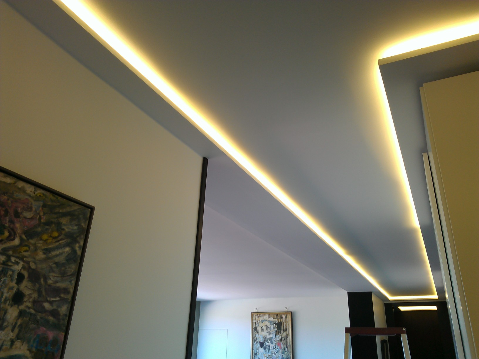 Eclairage for Eclairage led interieur plafond