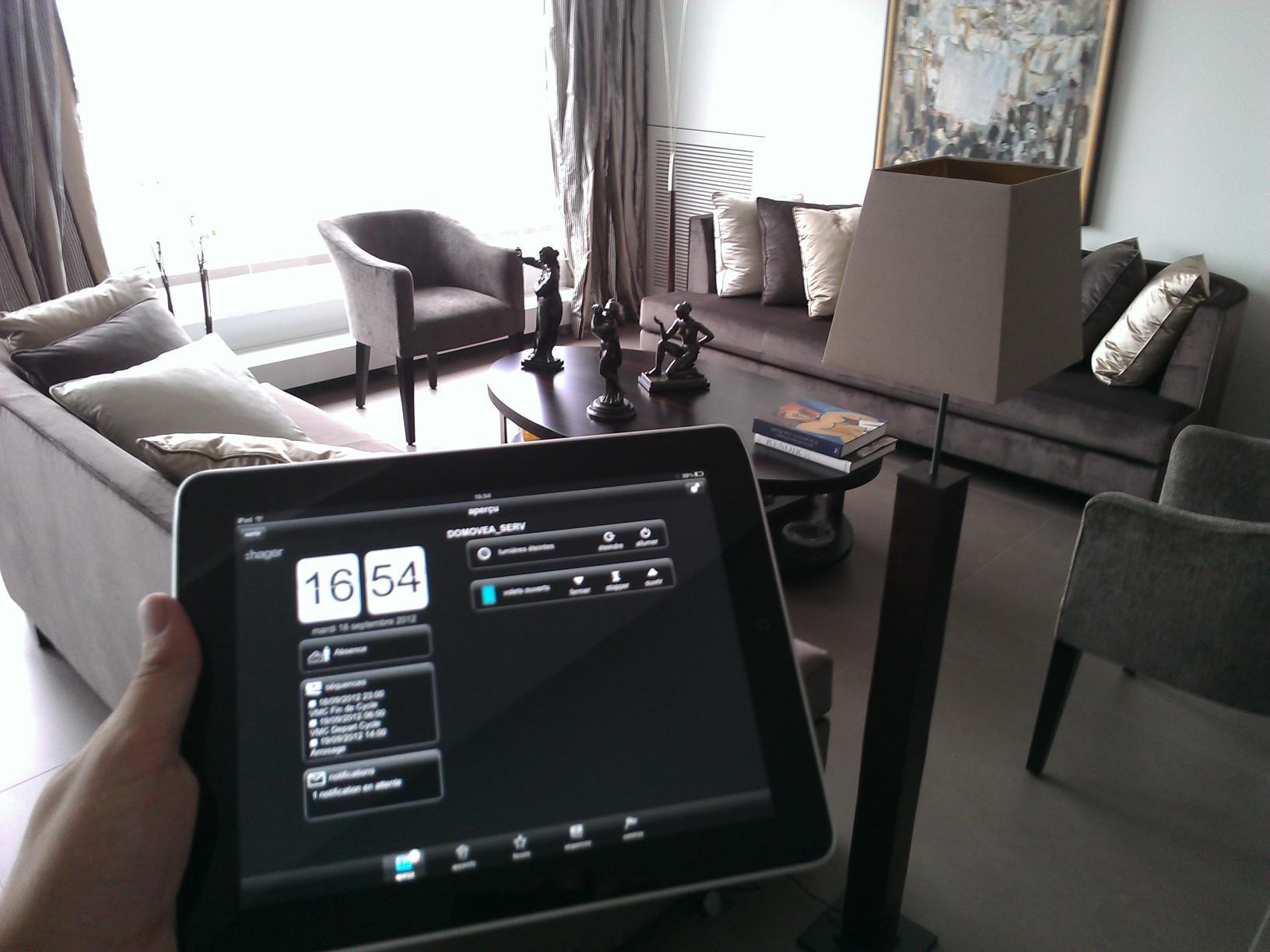 domotique knx. Black Bedroom Furniture Sets. Home Design Ideas