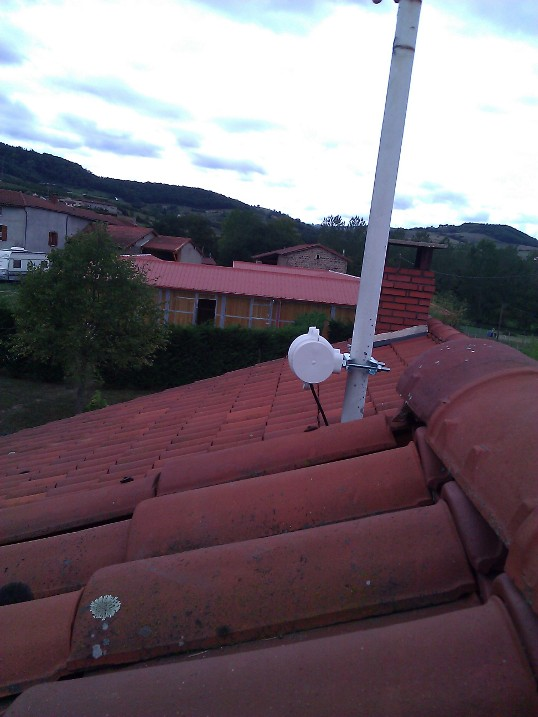Nos r alisations for Pont wifi exterieur